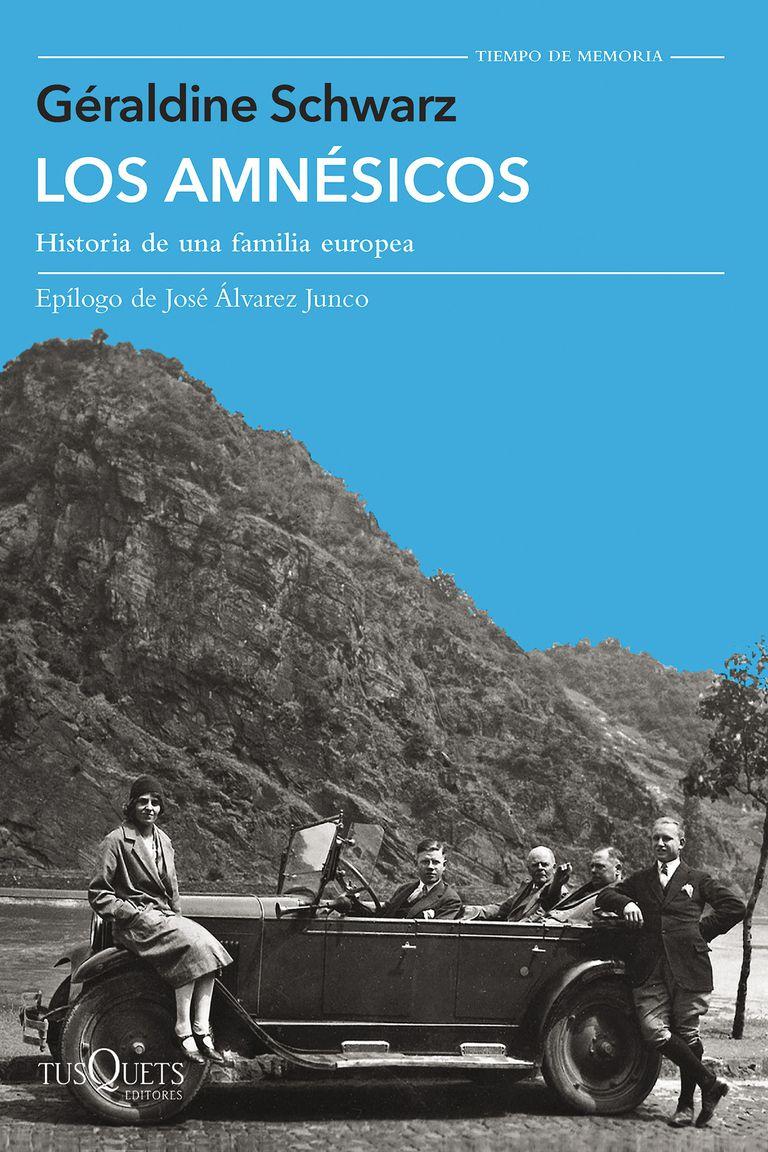"""""""Los amnésicos"""", el último libro de Schwarz fue recientemente publicado en Argentina por Tusquets"""