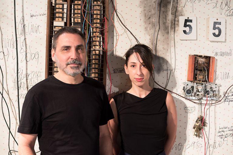 Emilio García Wehbi y Maricel Álvarez