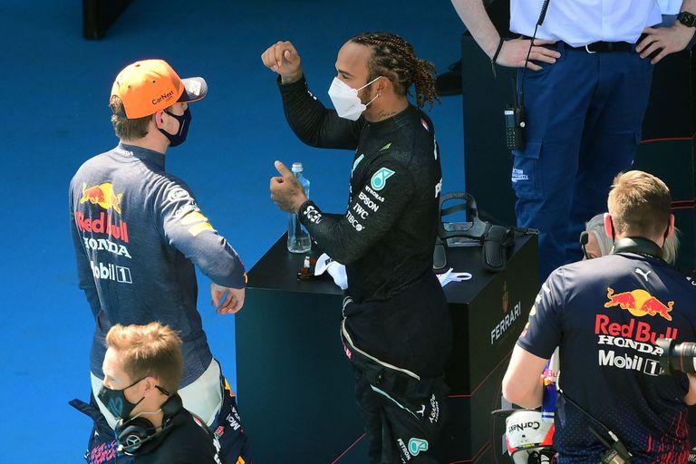 Sábado histórico en la Fórmula 1: Hamilton llegó a su 100° pole position