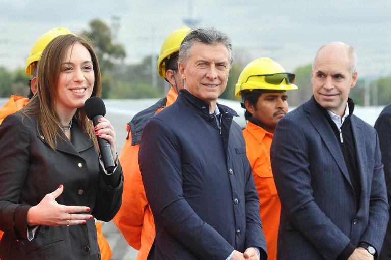 Vidal, Macri y Larreta, las tres figuras centrales de Cambiemos, se reunieron en Olivos para analizar la situación del Gobierno