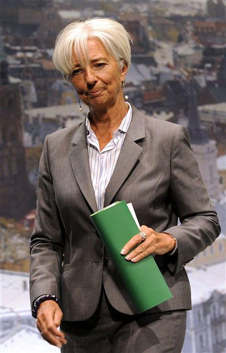 Christine Lagarde - Directora del FMI
