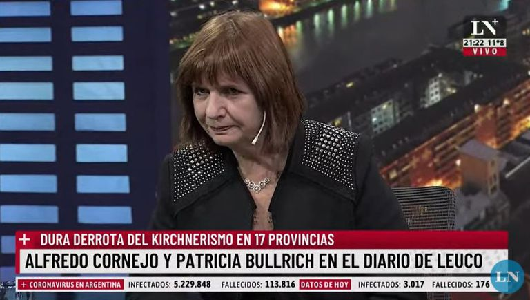 """Patricia Bullrich: """"En el peronismo se están queriendo comer entre ellos"""""""