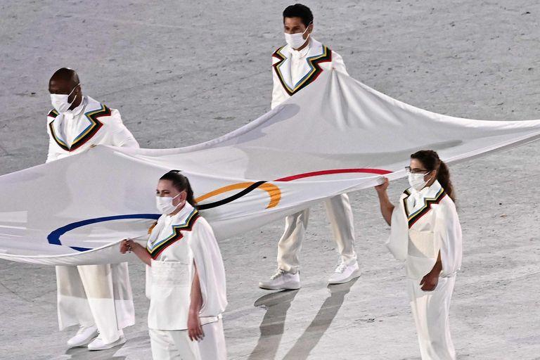 El gran reconocimiento olímpico a Pareto en la ceremonia inaugural