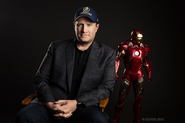 Kevin Feige, jefe creativo de Marvel Studios