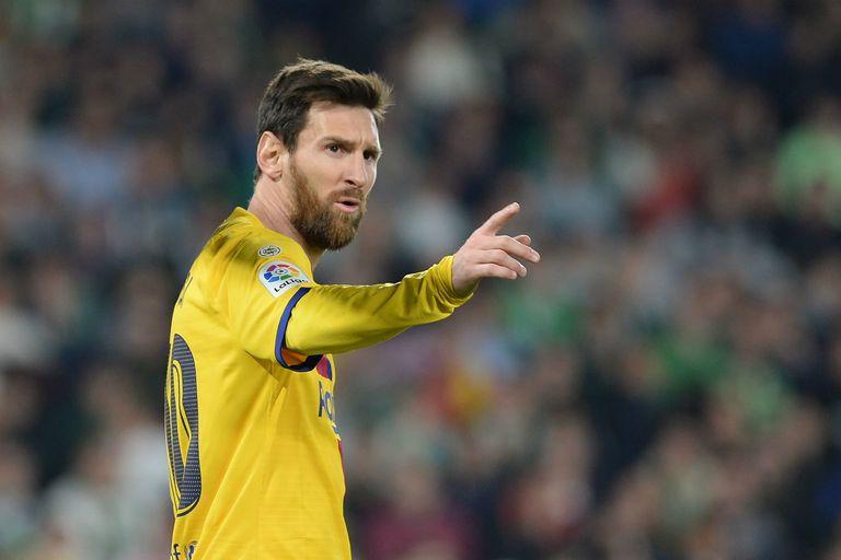 Messi lidera los números en la Liga de España