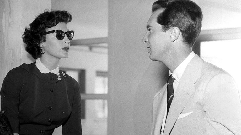 Ava Gardner se refugió en España ni bien decidió separarse del cantante