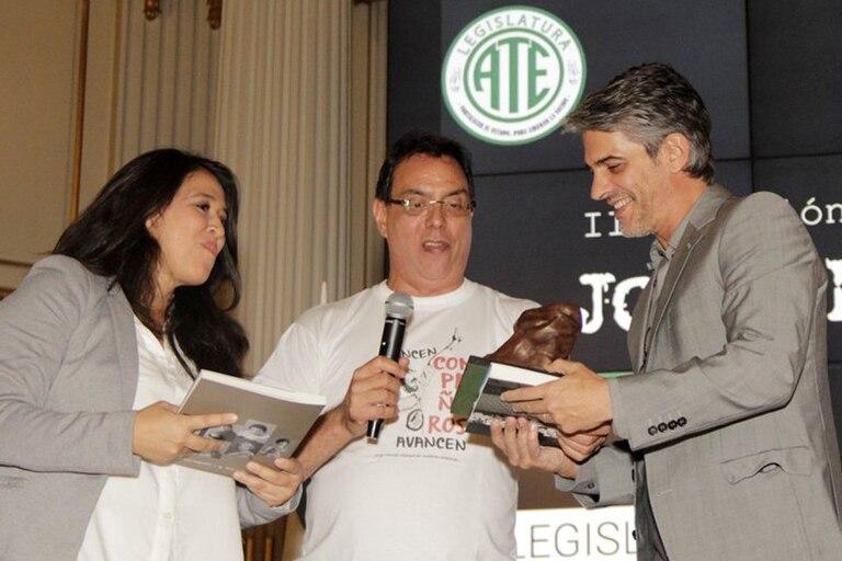 Ate entregó el Premio Jorge Morresi a Boudou, Zannini, Víctor Hugo Morales, Leopoldo y Pablo Echarri, entre otrs