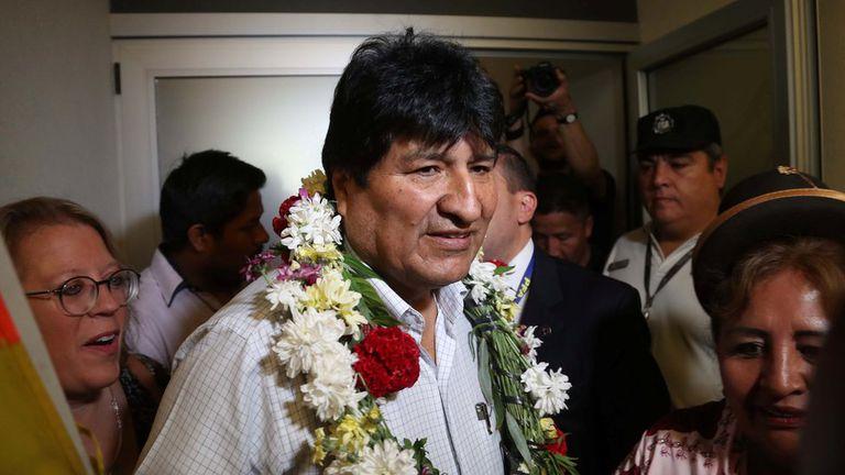 Bolivia. Una joven de 19 años afirmó ante la Justicia que es la novia de Evo
