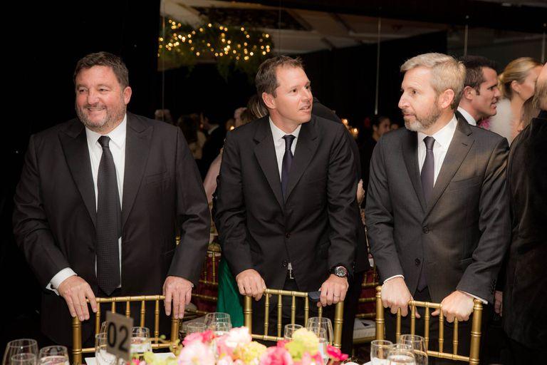 Alejandro MacFarlane, Jorge Brito hijo y Rogelio Frigerio