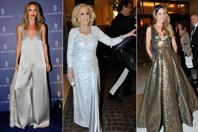 Noche de galas: del glamour de Mirtha y Macedo al festejo de María Vázquez