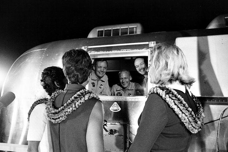 Los astronautas que llegaron a la Luna durante la cuarentena