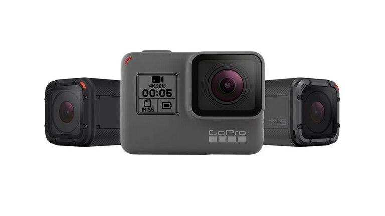 GoPro presentó nuevas cámaras: la Hero5 Black junto a las compactas Hero5 Session y Hero Session