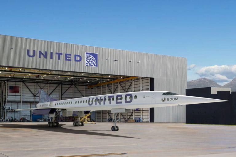 United Airlines volará de Nueva York a Londres en 3 horas con aviones supersónicos