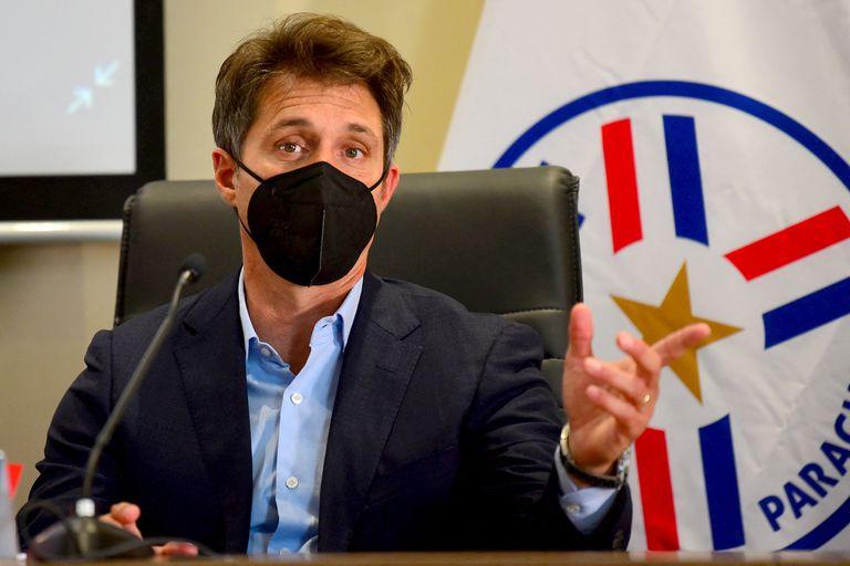 Barros Schelotto quiere llevar a Paraguay al Mundial y se desconcertó por una pregunta