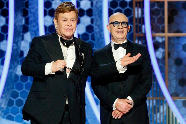 Elton John y Bernie Taupin, autores de la mejor canción del año
