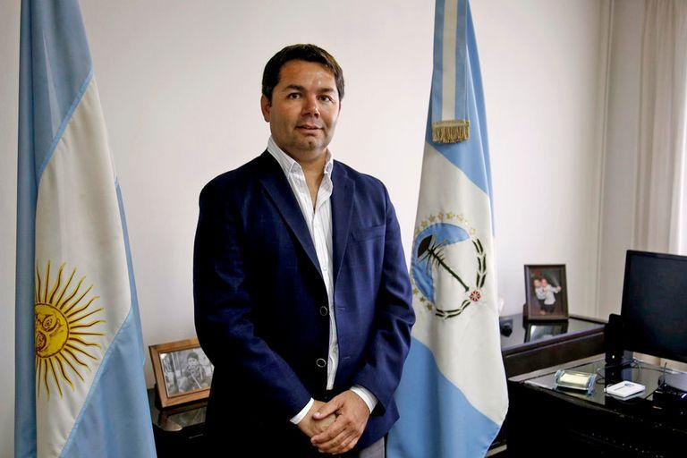 Alejandro Monteiro, ministro de energía de Neuquén