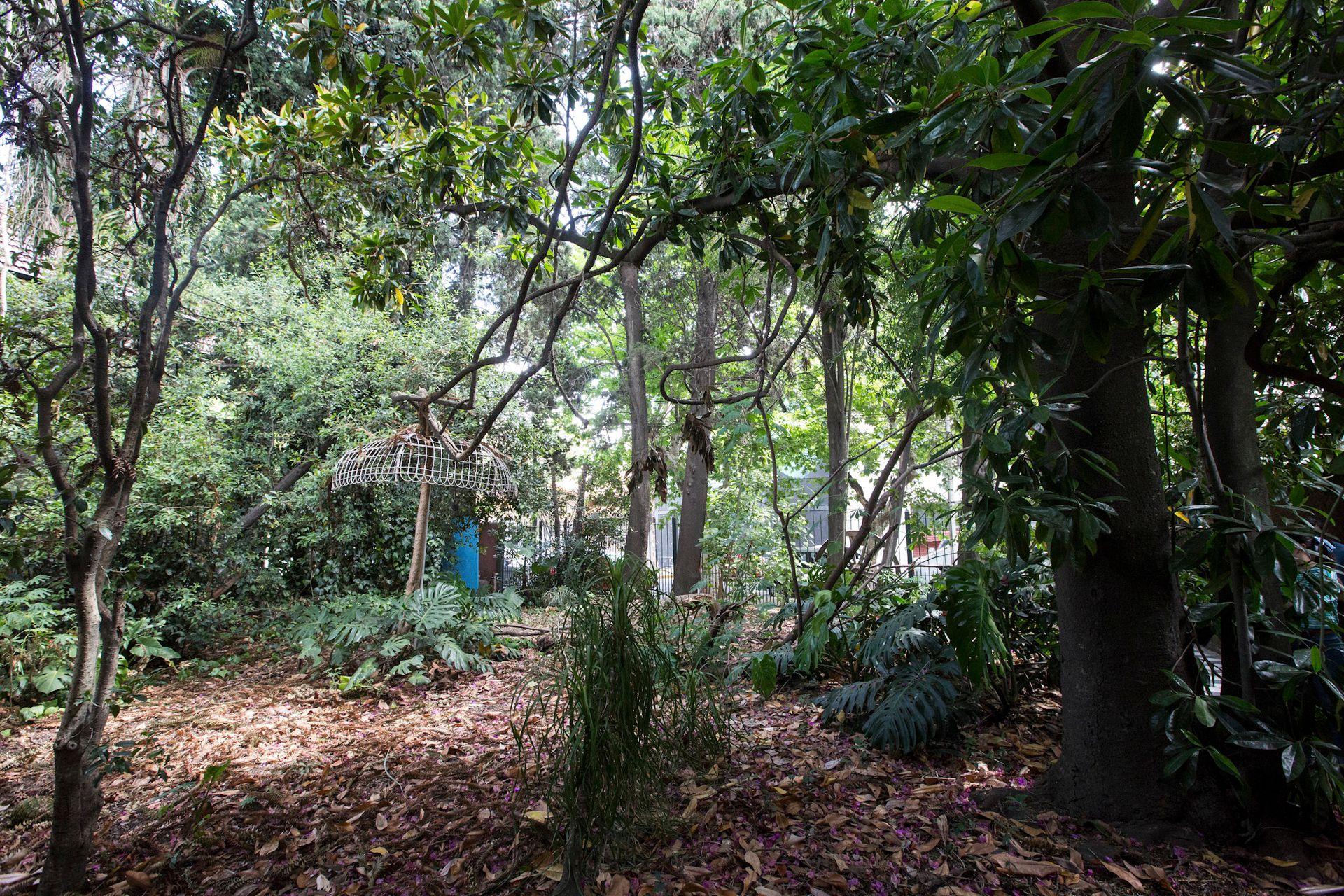 El parque de la casa de Santos Lugares