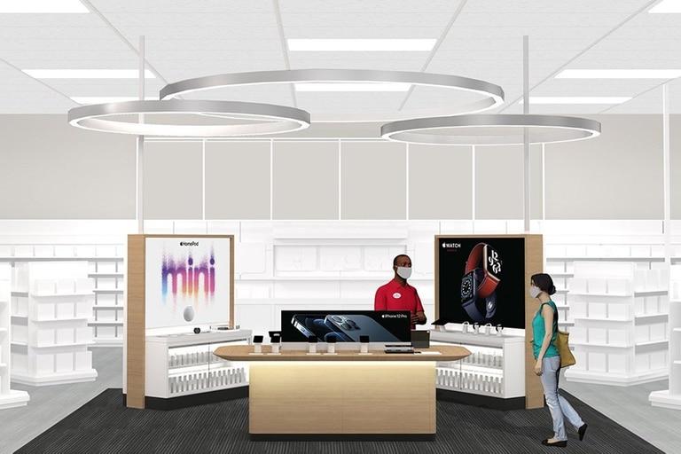Apple actualmente está instalado en 17 de las tiendas que la cadena Target tiene distribuidas en los Estados Unidos