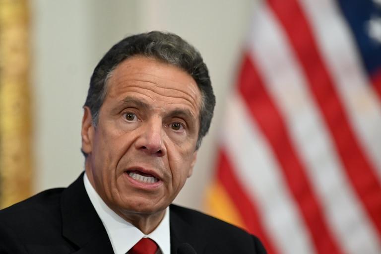 El governador de Nueva York Andrew Cuomo