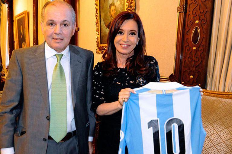 La muerte de Alejandro Sabella: el recuerdo de Cristina Kirchner en Twitter