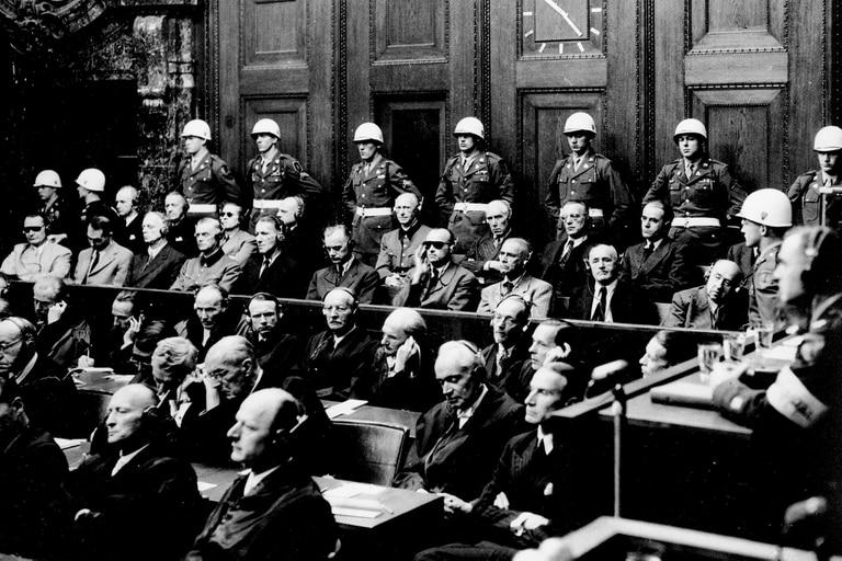 Victoria Ocampo testigo en el juicio de Nuremberg