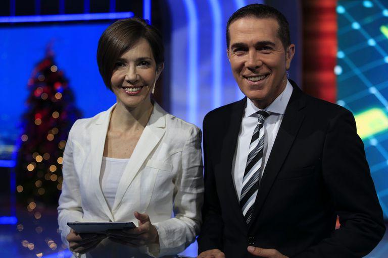 Pérez sorprendió a Barili con una calurosa bienvenida en su vuelta al noticiero