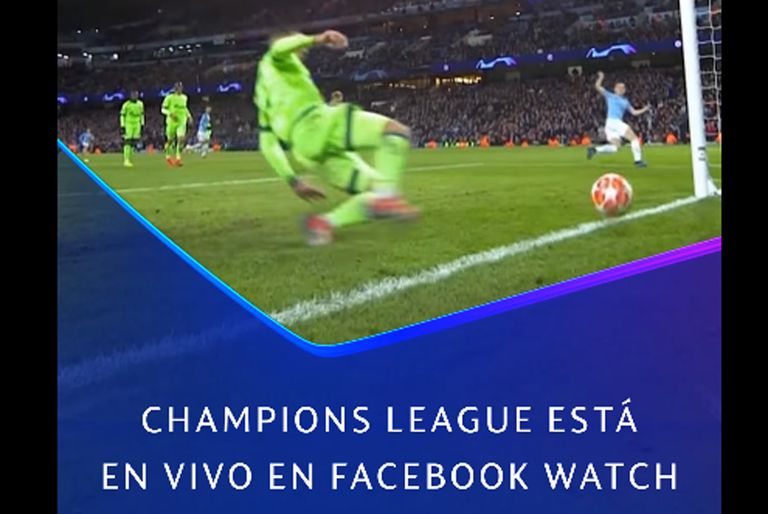 Facebook anunció que no traerá para esta parte del mundo los partidos de la Champions League, ya que no renovará su acuerdo con la UEFA