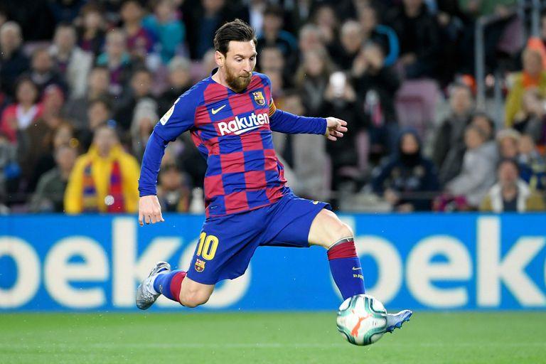 Messi, autor del 1-0 para Barcelona frente a Real Sociedad