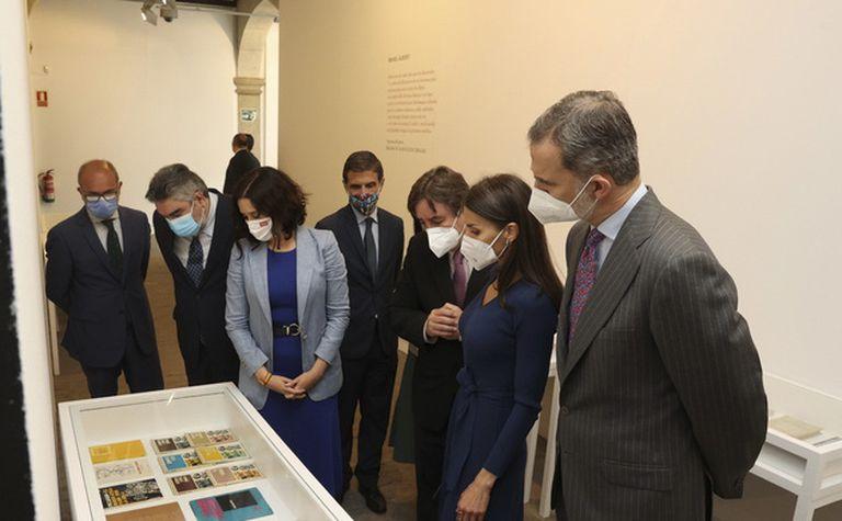 Los Reyes de España, el Ministro de Cultura y otras autoridades participaron en Alcalá de Henares de la celebración por el Día Internacional del Libro