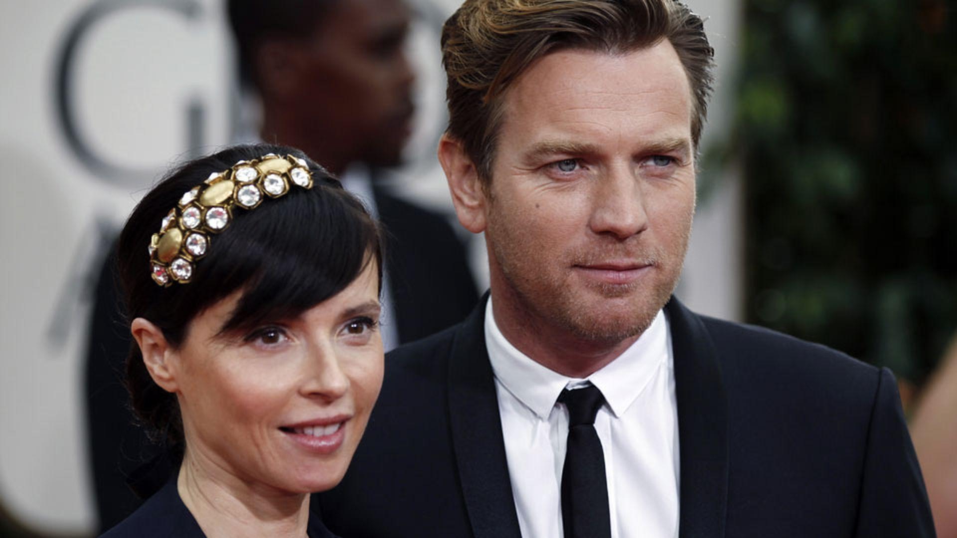Ewan McGregor junto a su esposa, Eve Mavrakis