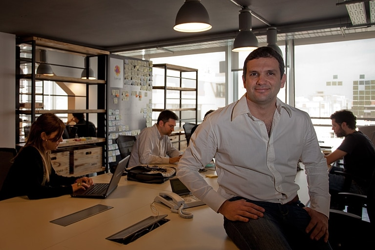 Andrés Saborido, country manager de Wayra Argentina, la división de Telefónica Digital que busca fomentar emprendimientos tecnológicos en la región