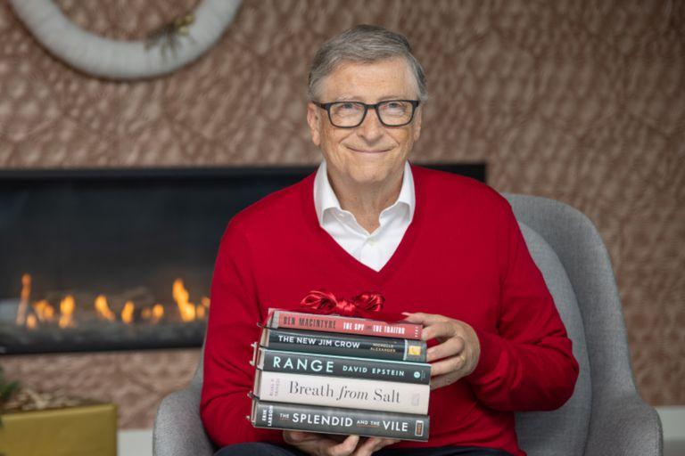 El fundador de Microsoft recomendó cinco libros imprescindibles para leer