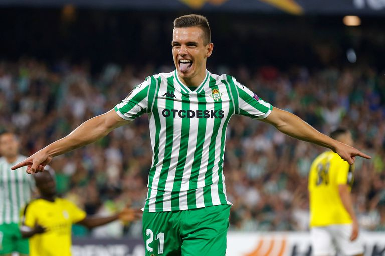Alario festejó por duplicado y el golazo de Lo Celso en la Europa League
