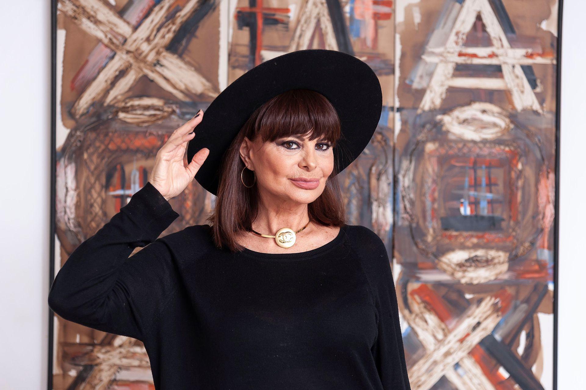 Lucía Miranda conserva el charme de su época de modelo