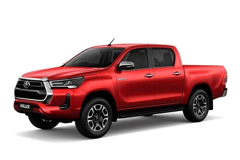La Toyota Hilux sigue firme en ventas