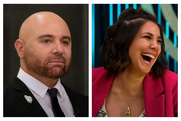 Andrea Rincón hizo un inesperado comentario mientras Germán Martitegui probaba el plato de Georgina Barbarossa en MasterChef Celebrity