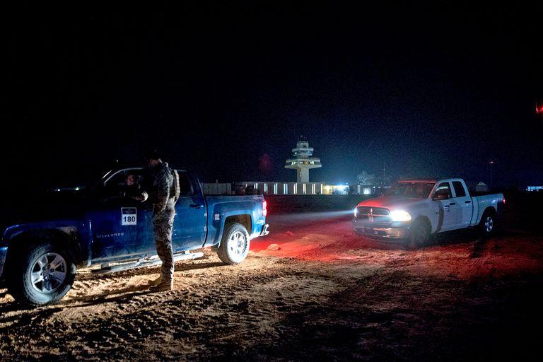 Una imagen de archivo de diciembre de 2018 que muestra la base Al-Asad al oeste de Irak