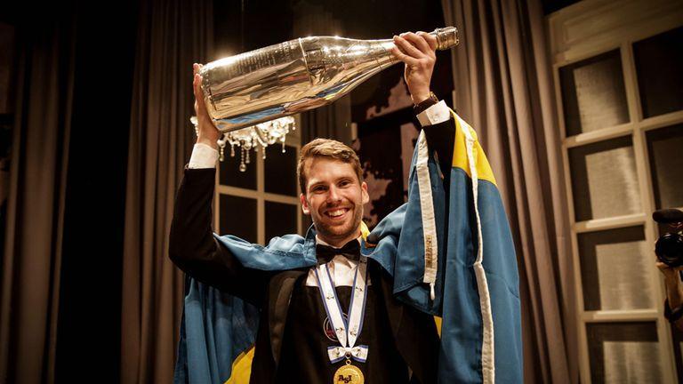 Rosengren, luego de ser coronado el mejor del mundo
