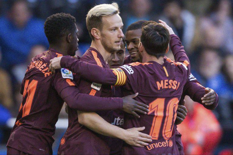 Barcelona, campeón: Messi metió un hat-trick y consiguió su título N° 32