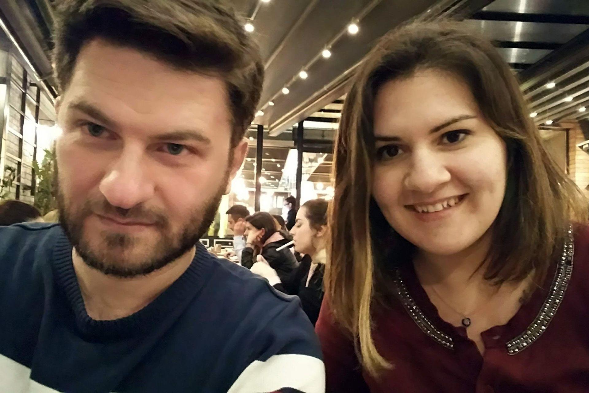 Martina y Hüseyin, un amor a prueba de todo.