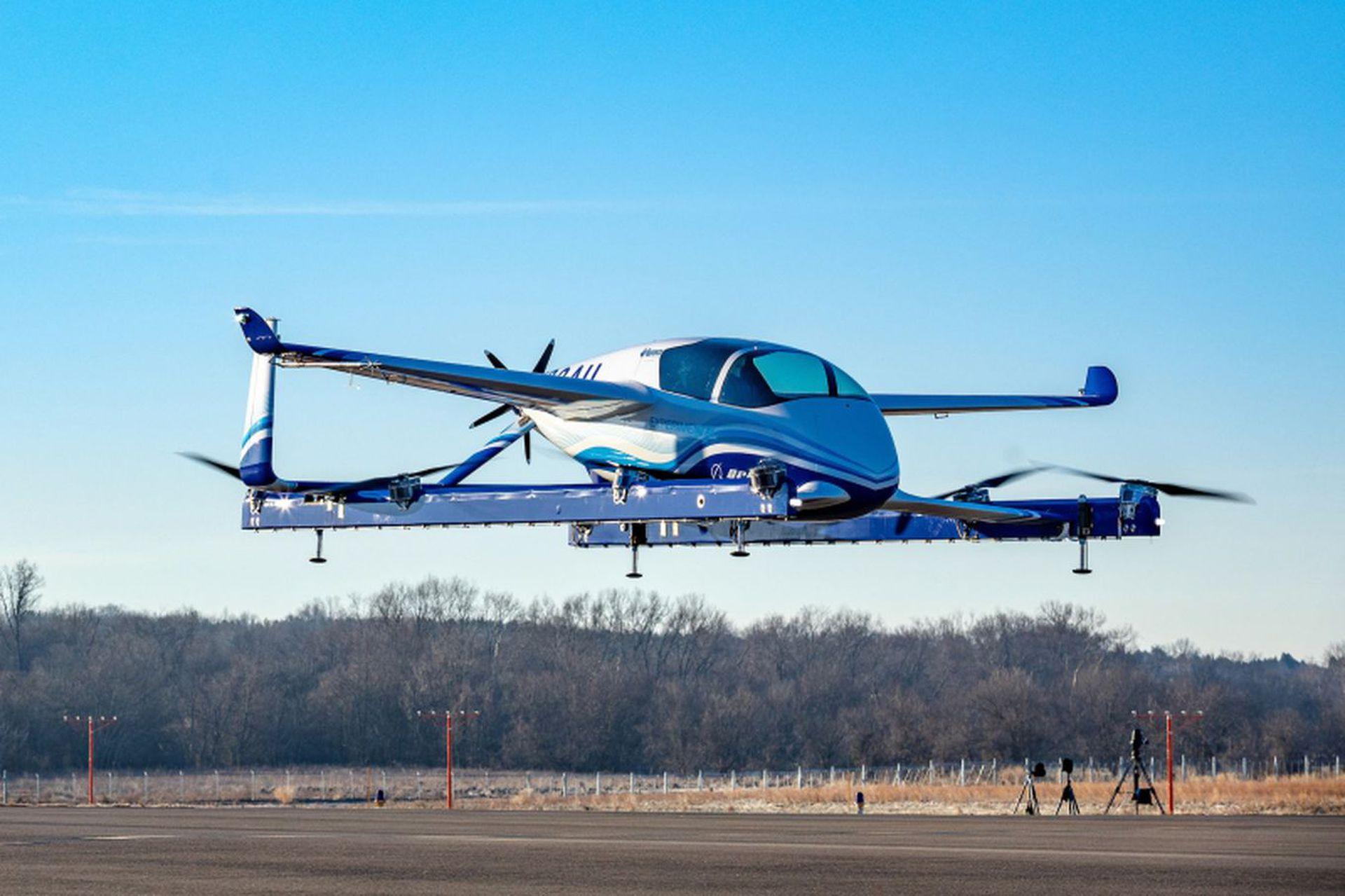 El protipo de taxi aéreo autónomo de Boeing