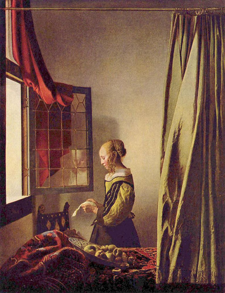 Muchacha leyendo una carta, una de las pinturas de Vermeer que Toop estudia en su libro