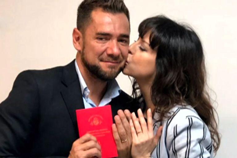 """Mercedes Funes se casó con Cecilio Flematti: """"Quisimos que sea algo muy íntimo"""""""