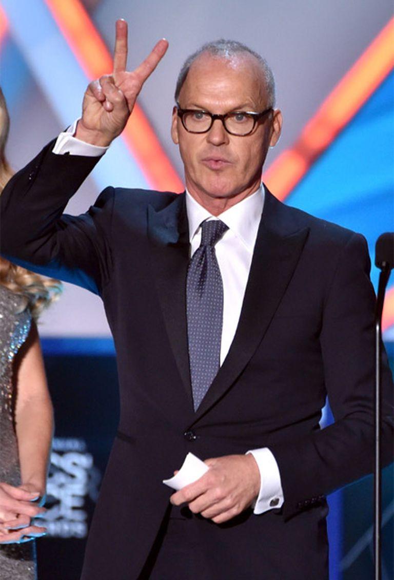 Keaton recibió tres reconocimientos en la premiación