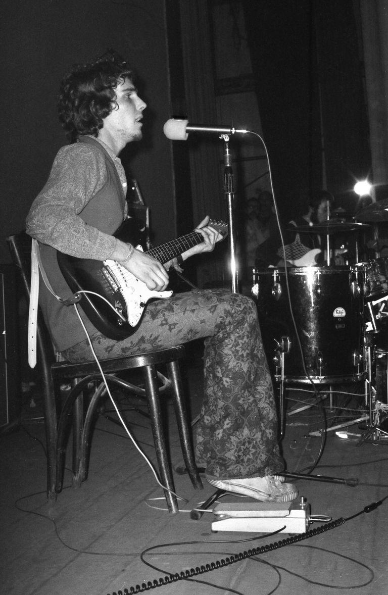 Spinetta en el teatro Astral, en 1973