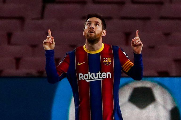 Una maravilla: dos amagues y un golazo de Messi como de dibujito animado