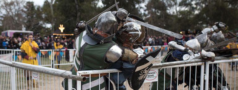 El porteño que se convirtió en un caballero medieval