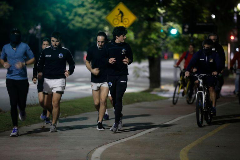 En la nueva cuarentena volverá la actividad física a la Ciudad de Buenos Aires