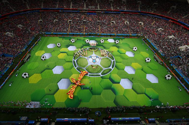 Estadio Olímpico Luzhnikí , fiesta inaugural