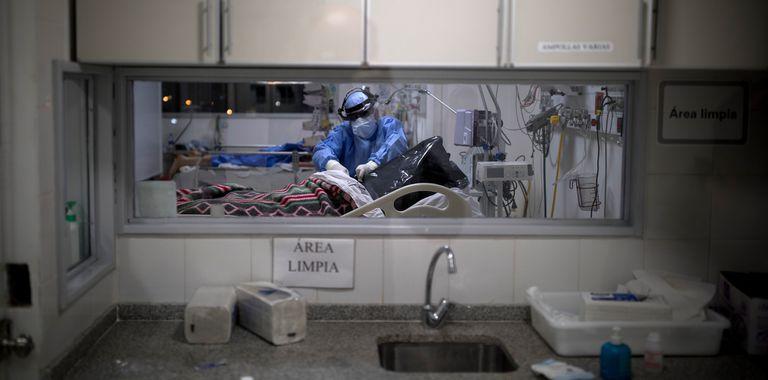 Salas de terapia intensiva para pacientes Covid-19 del hospital Posadas